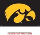 Iowa Hawkeyes Fan Banner 2' x 3'