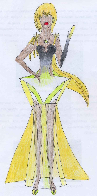 Звезда Сириус (мой эскиз) The star Sirius (my sketch)  #fashion #Style #мода #design #designer #дизайнер #стиль