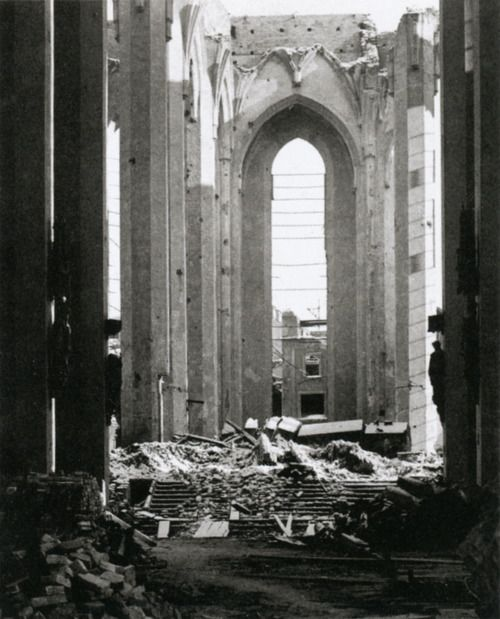 Nave of the Frauenkirche, Munich | 1945-6