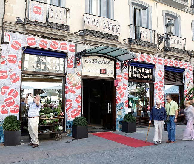 Hostal Madrid   Hostel Madrid   Decoracción 2012