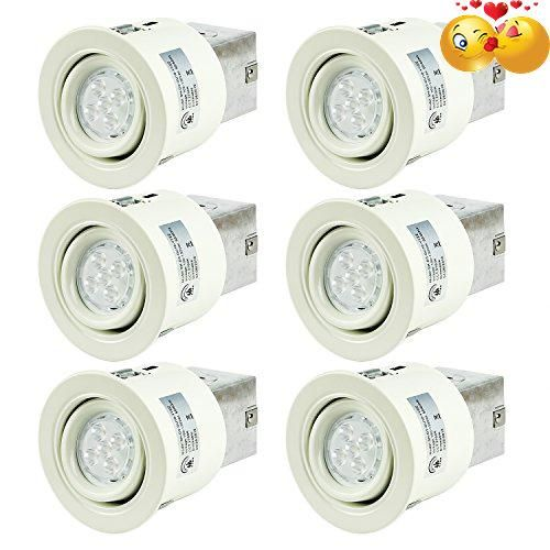 #sale Package Include: 6 pack of 3 Inch 2700K GU10 #recessed lighting kit. Dimmable: Energy saving up to 88%,work with most dimmers on the market,in order to ens...