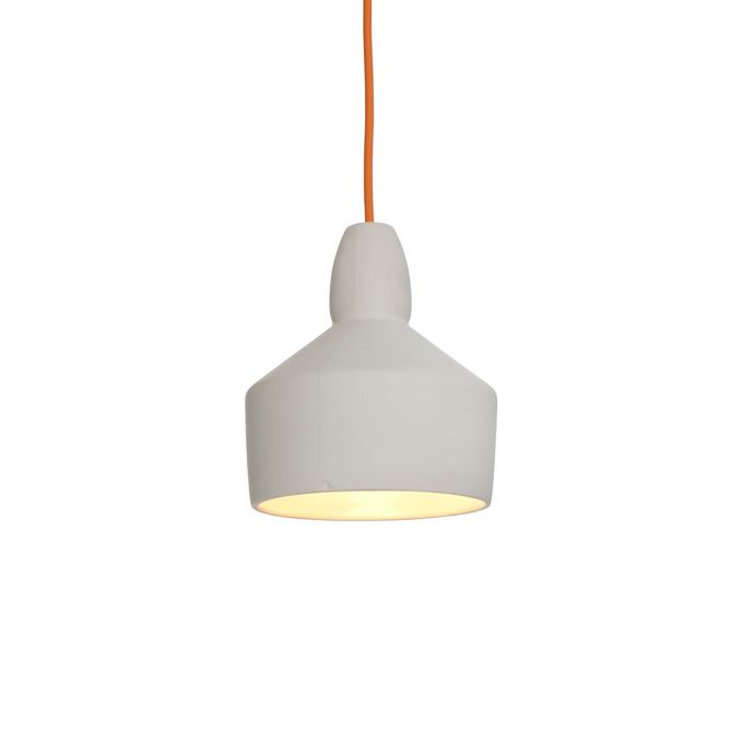 Handmade in the UK, Room-9's delicate and striking Ceramic Pendant Lights can shine solo, in uniform groups or mixed clusters with the other shapes in the family.