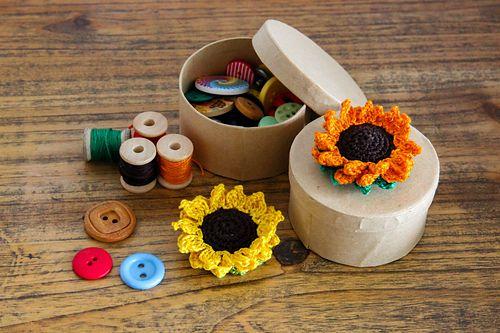 Ravelry: Crocheted Sunflower pattern by Matt Farci
