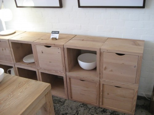 Handsome modular cabinets by Mark Tuckey Company, from Melbourne...