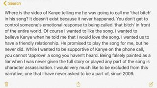Of course you're all caught up on the Kim-Kanye-Taylor feud. To keep it simple: After Kim posted the Kanye-Taylor phone conversation on Snapchat, Taylor responded on Instagram: | Thanks To Taylor Swift We Can All Be Excluded From This Narrative Anytime We Want