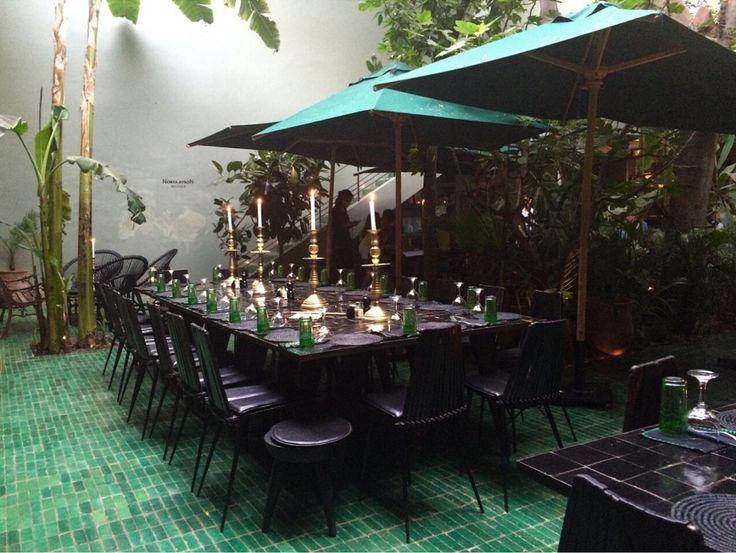 le jardin-marrakech-city guide-médina-restaurant-déco