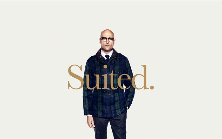 Download wallpapers Kingsman, The Golden Circle, 2017, Mark Strong, Merlin, British actor