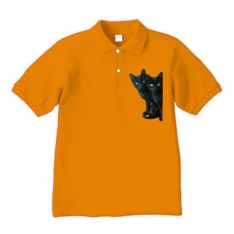 黒猫兄妹子猫が、可愛く家政婦は見たスタイルで覗いています。(=^.^=)