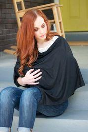 Tutorial: Modern Nursing Shawl · Sewing · Easy!
