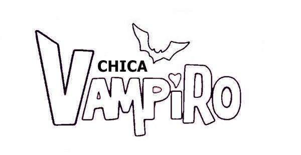 Gâteau Chica Vampiro facile avec pochoir à imprimer