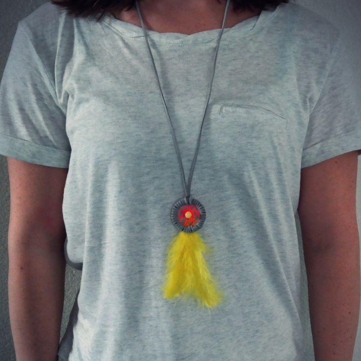 Maak je eigen #dromenvanger #ketting met de #DIY op www.petite-amie.nl. #necklace