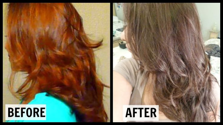 How to get rid of brassy orange hair at home in 30 min l