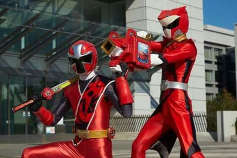 Zyuoh-Whale and Akaninger