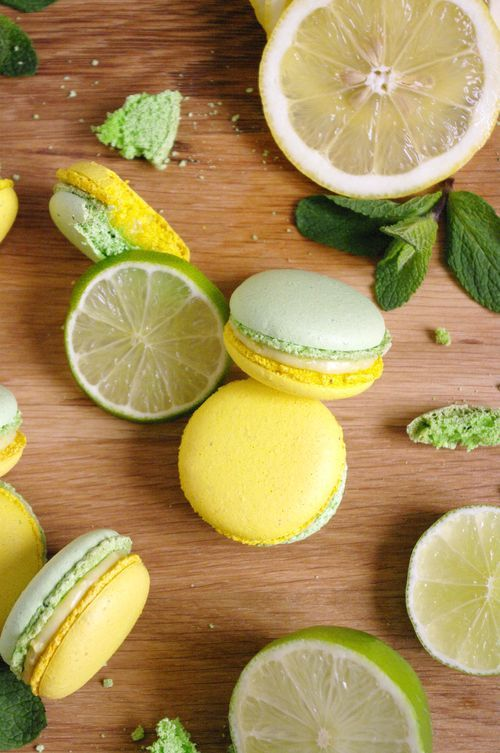 Macarons mojito pour le Foodista Challenge #6 | I Love Cakes