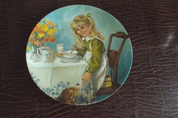 Джон Макклеланд коллектор Plate Завтрак с сертификатом подлинности по burnedbunny
