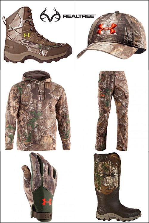 Are you looking for a head-to-toe turkey ensemble? Then check out Realtree Xtra® camo spring turkey-hunting apparel and accessories by Under Armour®.   #realtreecamo #realtreextra #underarmour #huntingclothing