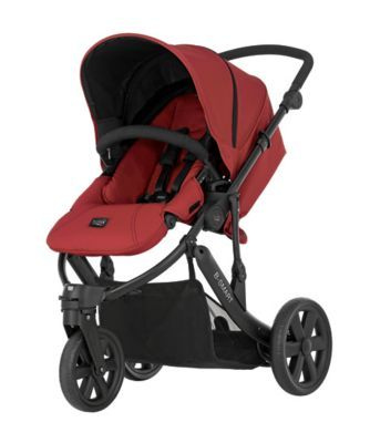 Britax B-Smart 3 Pushchair - Chilli Pepper