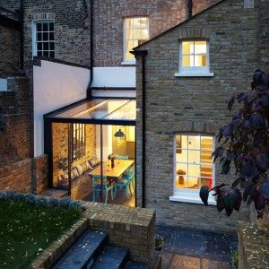 """HÛT+adds+""""jewel-like""""+glass+extension+to+east+London+house"""