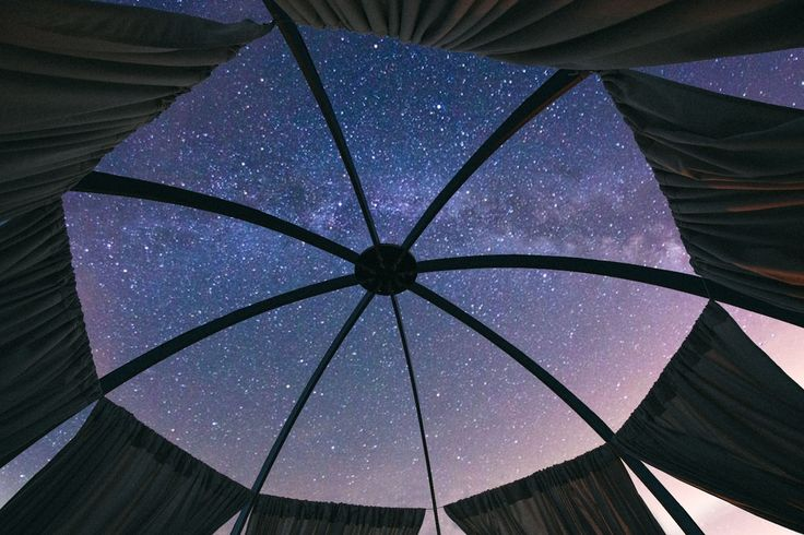 Oasis dome offers glamping under the stars all year round