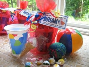 Pool Party Favors Ideas pool party pool food Swim Party Favors