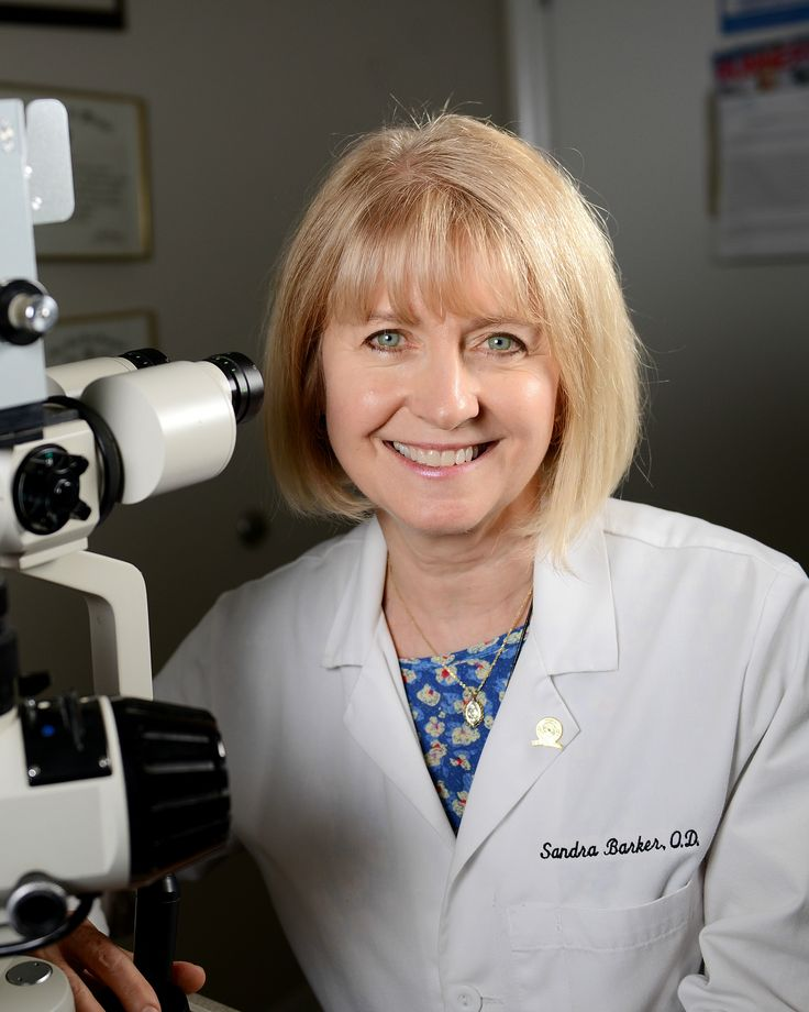 Dr. Sandra Barker is a Board Certified Optometric Physician. She received her Bachelor's degree in Biology with Honors from the University of Texas at Austin. She received her Doctor of Optometry degree from the University of Houston College of Optometry. After completing her internship in the Optometry/Ophthalmology Service at Walter Reed Army Medical Center in Washington, D.C.