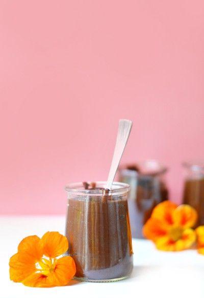 Crèmes dessert au chocolat façon Danette (vegan, sans gluten)