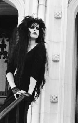 Patricia Morrison during her time with the Sisters of Mercy. Lovely lady.