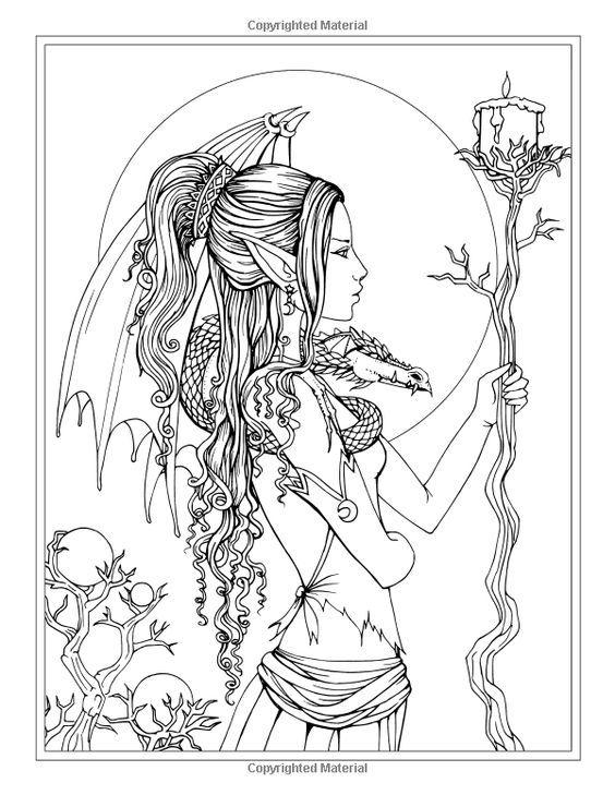Les 107 meilleures images du tableau coloriage elfe sur - Dessiner un elfe ...