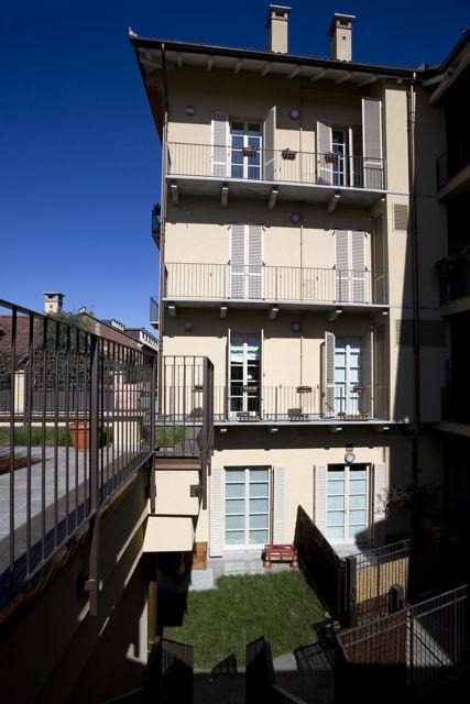 Palazzo Minerva. Vista interna del fabbricato. Canuto Costruzioni