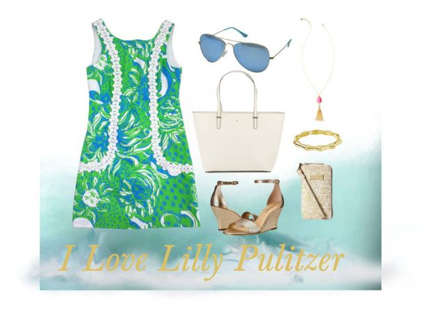 """I Love Lilly Pulitzer"" by theclosetofd on Polyvore featuring Lilly Pulitzer and Kate Spade"