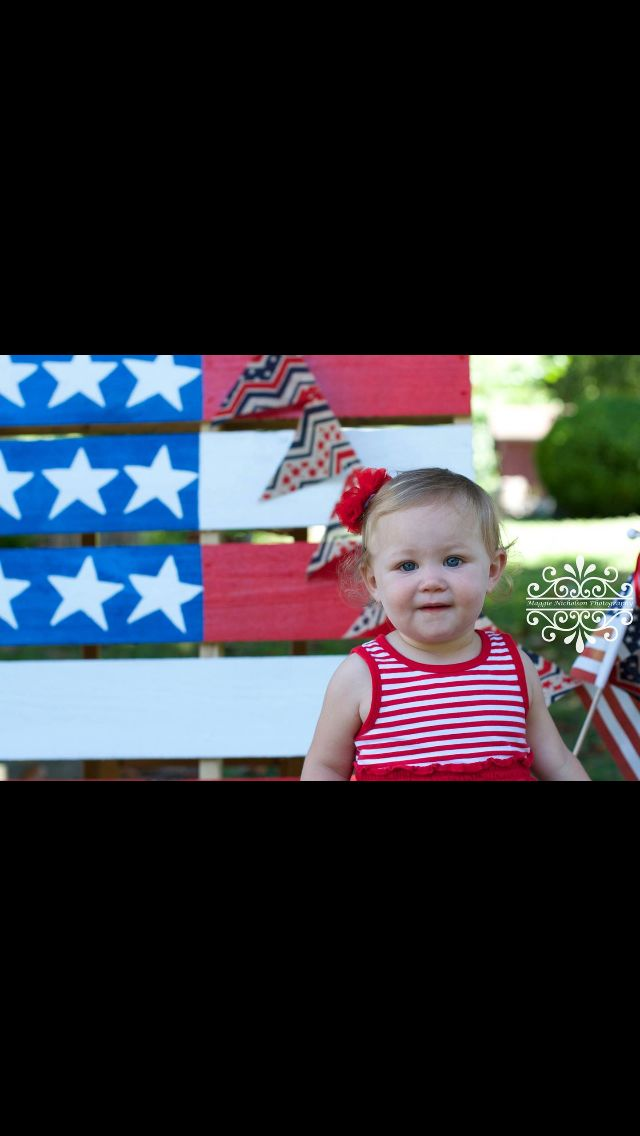 Maggie Nicholson Photography children patriotic 4th of July