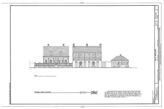 HABS LA,36-NEWOR,94- (sheet 39 of 45) - Villa Meilleur, 1418 Governor Nicholls Street, New Orleans, Orleans Parish, LA
