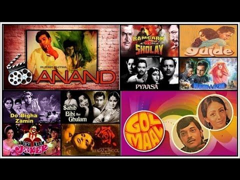 Top ten ranking videos: Top 10 best old Hindi Bollywood movies
