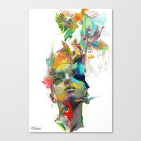 Canvas Prints featuring Dream Theory by Archan Nair