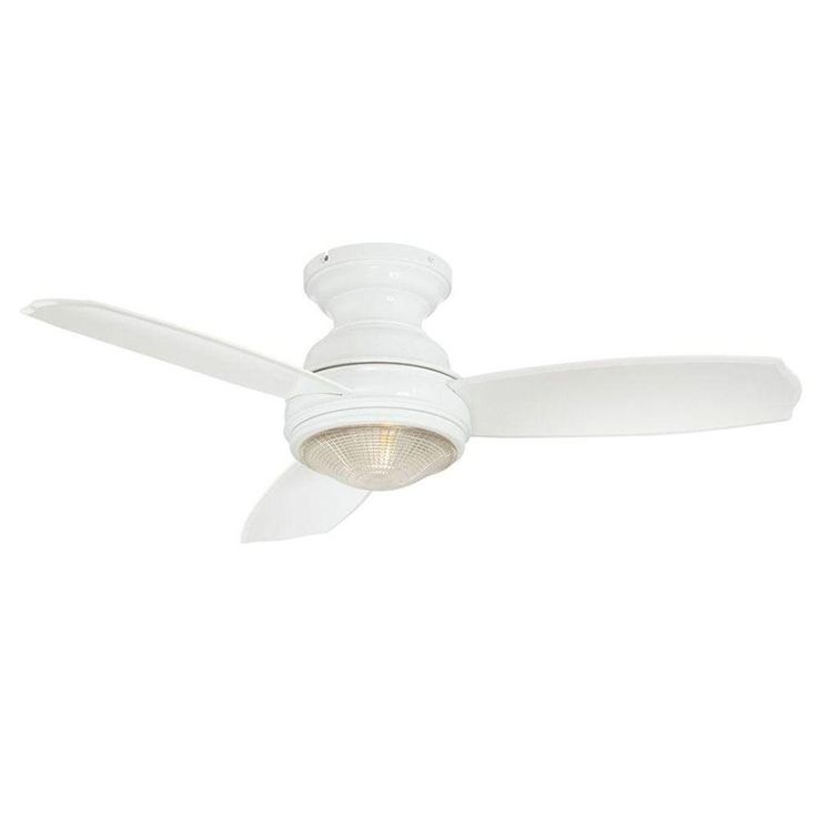 Hampton Bay Sovana 44 In White Ceiling Fan