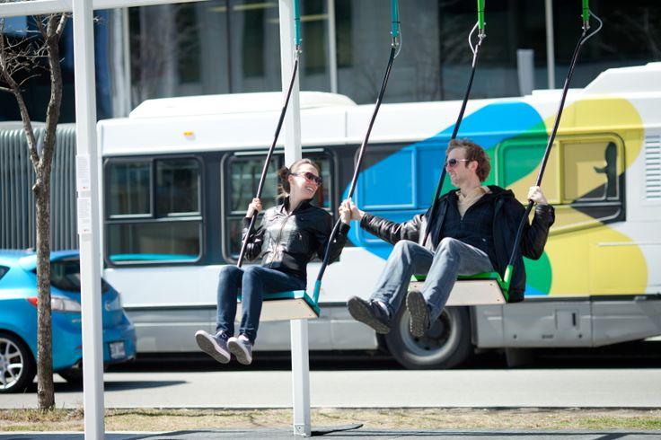 21 Swings brings music to the Quartier des spectacles - Tourisme Montréal Blog