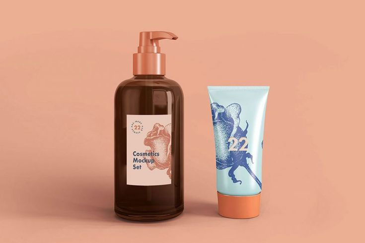95 Best Free Cosmetic Mockups For 2021 Mockuptree Cosmetics Mockup Cosmetic Packaging Design Body Lotion Packaging