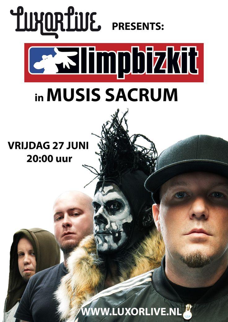 Luxor Live presents Limp Bizkit in Musis Sacrum is UITVERKOCHT!     Een van de…