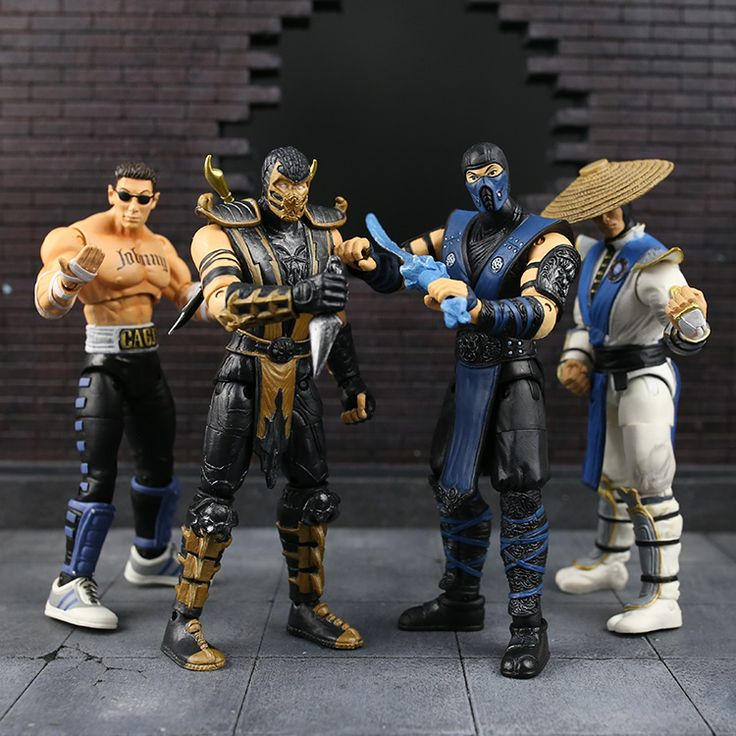 6 inchs Mortal Kombat 9 action figure set Johnny  Raiden anime doll backpack wallet amazing items //Price: $US $16.99 & FREE Shipping //     #toys