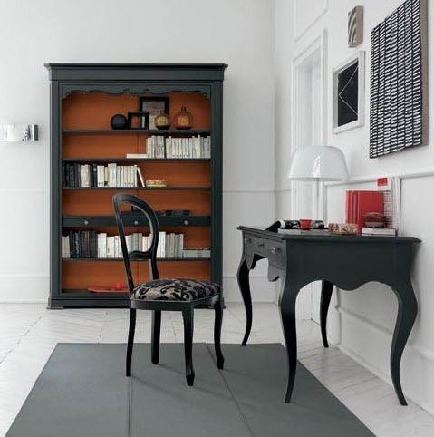 classic style writing desk VANESSA-LUCREZIA-BABY Dall'Agnese Industria Mobili