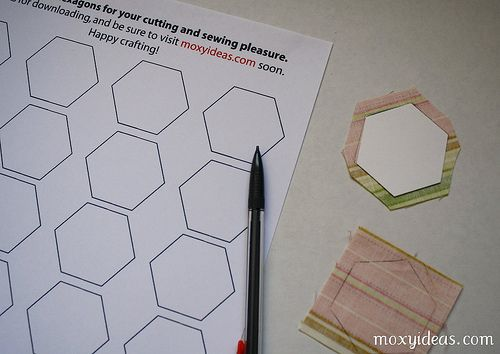147 best quilting hand piecing hexies images on pinterest hex tutorial 01 pronofoot35fo Images