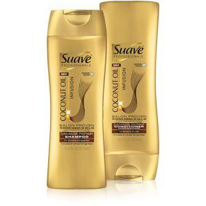 NEW Suave Professionals® Coconut Oil Infusion Shampoo & Conditioner