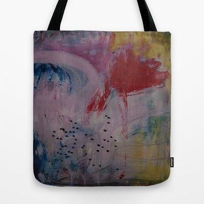 colors of the week - saturday Tote Bag by Helle Pollas - $22.00