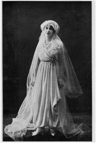 robe de mariée 1917