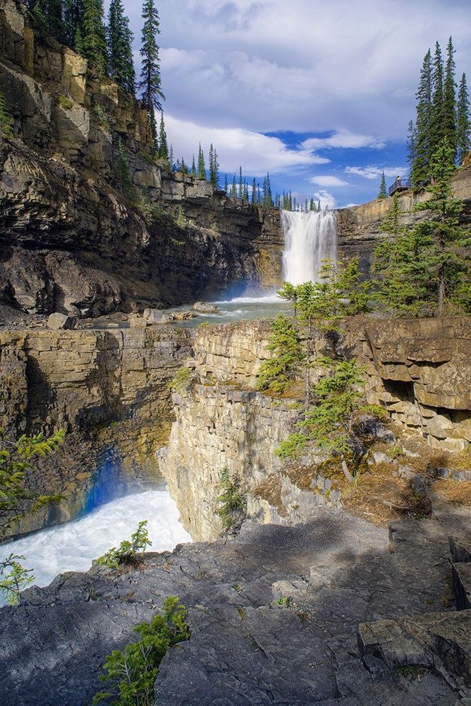 AND the view of Crescent Falls on the Bighorn River. | 14 Reasons Why Alberta Is Every Adventurer's Dream