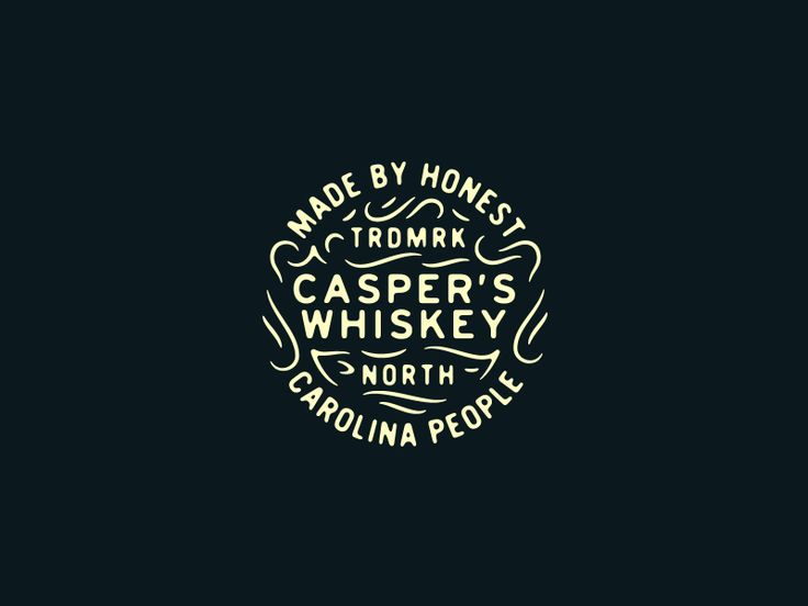 Casper's Whiskey Alternative by Adam Dixon #Design Popular #Dribbble #shots