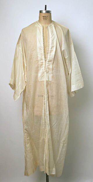 Robe Date: 1800–1942 Culture: Moroccan
