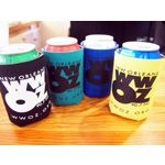 2014 New Koozies. Come in Black, Teal, Yellow and Green.One side is the WWOZ Logo and the other is the Louisiana Music Factory logo with the OZ Store and LMF new address!  Pick a color or get all four!