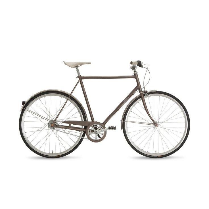Gazelle Van Stael Herren Grau 54cm 7 Gang 2015 Lifestyle Fahrrad  ca. 800,- EUR