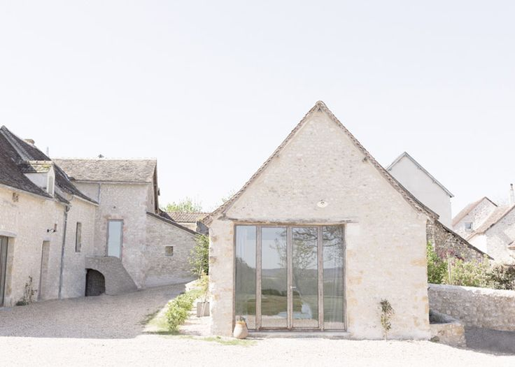 Old French farmhouse converted into a holiday home.